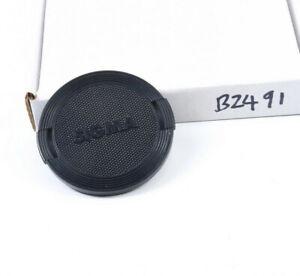 Original  Sigma 55mm lens cap snap-on - made in Japan  (B2491)
