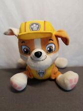 "Rubble 6"" Nickelodeon Paw Patrol Plush Stuffed Doll Puppy Doggy Pal Figure Toy"
