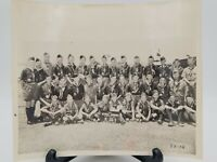 1953 National Jamboree Scout Photo Boy Scouts Of America Troop 25 with all names