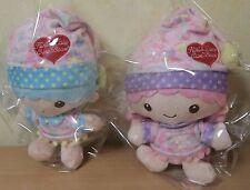 New Rare LITTLE TWIN STARS Plush Doll Toy Mascot KIKI LALA CareBears Sanrio Japa