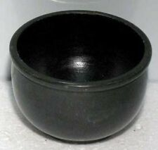 "Black Stone Scrying Bowl 3"" Wiccan Wicca Witchcraft Supplies FREE SHIPPING"