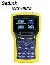 SATLINK WS-6935 HD DVB-T/T2 with Spectrum Analyzer Satellite Finder QPSK,16QAM
