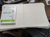 Nintendo Wii Fit Balance Board RVL-021 Bundle with Wii Fit Game