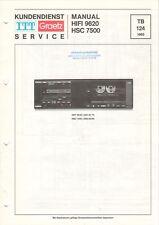 ITT GRAETZ - HIFI 9620 HSC 7500 - Service Manual Schaltplan - B8862