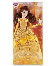 """DISNEY PRINCESS CLASSIC DOLL COLLECTION 12"""" 2016 BELLE & CHIP BEAUTY & THE BEAST"""