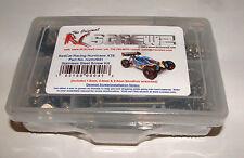 REDCAT RACING HURRICANE XTE RC SCREWZ STAINLESS STEEL SCREW SET RCR041