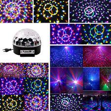 Disco LED Lichteffekt MP3 Discokugel Magic RGB Projektor f. Party Clubs