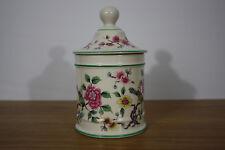 James Kent Old Foley Lidded Jar Chinese Rose