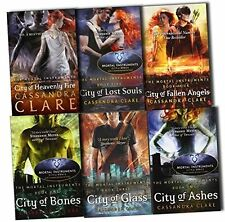 The Mortal Instruments 6 Books Set Collection Pack- Cassandra Clare