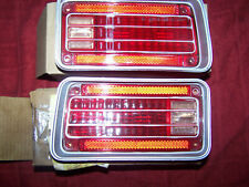 1970 Chevelle SS 454 LS6 Rear Tail Light Taillight Lens PAIR NOS 5964287 5964288