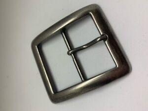 40mm Pin Single Belt Buckle ANTIQUE Nickle Australian Made
