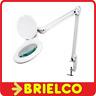 LAMPARA ARTICULADA LUPA 48 LEDS 4W 5 DIOPTRIAS BLANCA BANCO DE TRABAJO BD3531