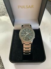 VINTAGE SEIKO 5 MILITARY STYLE AUTOMATIC WATCH GWO BOXED
