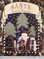 Santa and His Frozen Friends by Jill Webster Tole Painting Pattern Book