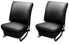 65-67 VW Bug Sdn/Conv Original Front Seat Upholstery, Basketweave (Choose Color)