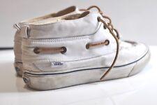 Vans California Mens canvas boat mid sneakers size 11