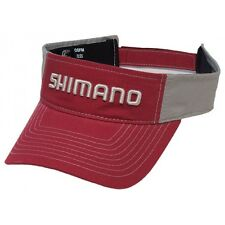 Shimano•  Fishing Ripstop Visor Red--Free Shipping