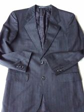Austin Reed Men's Single Breast 2 Button Pin Strip Suit/ Pure New Wool