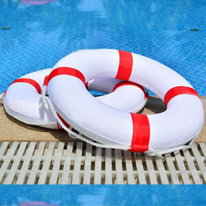 Swimming Pool Safety Ring Adult Child Lifeguard Buoy Life Preserver