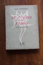 August STRINDBERG - le chemin de Damas - ed. IAC 1950