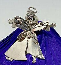 Angel silver Plate Clip Brooch Jewelry My Vintage Mom'S Emilia Castillo 1997