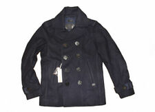 Diesel Collared Wool Double Breasted Coats & Jackets for Men