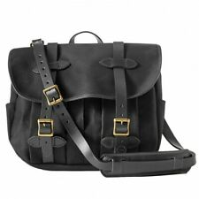 Filson 70232 Medium Rugged Twill Field Bag (Bridle Leather W/ Strap 2 Colors)