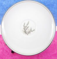 "Noritake China Candice 5509 Pussy Willow Saucer Plates 6"" Wide Japan Lot of 7 B"