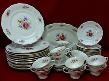 FAVOLINA china FLORAL BOUQUET fav7 pattern 50-piece SET SERVICE for Twelve (12)