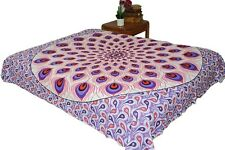 AamiraA Hippie Red Purple Mandala Tapestry Bohemia Wall Hanging Throw Dorm Decor