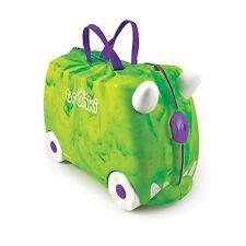 Trunki Ride-on Suitcase - Trunkisaurus Rex (Green) KIDS FUN TRAVEL BRAND NEW
