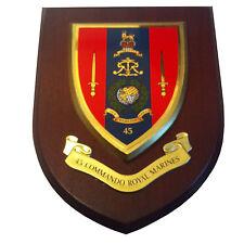 45 Commando Royal Marines Military Shield Wall Plaque