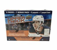 2020-21 Upper Deck Series 1 Hockey (10) Pack Mega Box W/ Young Guns Sealed New