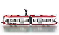 1895 SUPER SIKU Bombardier Articulated Tram 1:87 Die-Cast Metal Model Vehicle