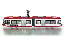 1895 SUPER SIKU Bombardier Articulated Tram 1:87 Die-Cast Metal Model Vehicle