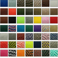 550 Paracord Parachute Cord Lanyard Mil Spec Type III 7 Strand Core 33 50 100 SS