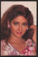 SRIDEVI  -  indian  old bolly wood  actress  --  Rare Post card