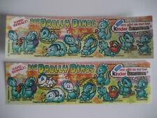 V35) Drolly Dinos BPZ Fehldruck Farbe fehlt 100% original Ferrero Ü-Ei Variante