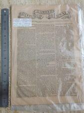 Charles Dickens - Chambers Edinburgh Journal. Saturday November 26 1842. Rare.