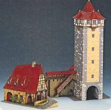 Vecchia fucina Gerlach-fucina + rödertor Rothenburg BASTELBOGEN 1:160 Spur N