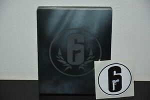 Steelbook - Selten - Six Siege - Top Zustand - ohne Spiel - Größe G2