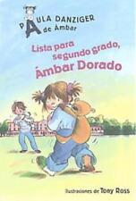 LISTA PARA SEGUNDO GRADO, AMBAR DORADO / GET READY FOR SECOND GRADE, AMBER BROWN