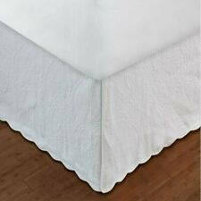 """Greenland Home Paisley Bed Skirt Twin Full Queen Or King 18"""" Quilted"""