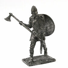 54mm tin soldier Viking with axe 9-10 century 1/32 Scale
