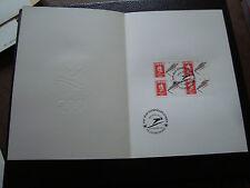FRANCE -document 1er jour 22/12/1990 (albertville saut a ski) (cy48)french