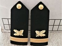 US Navy Supply Corps Ensign Shoulder Boards - Male