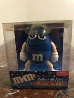 M&M's Motor Mates- Blue- Antenna Topper-Dashboard Display-Mirror Dangler