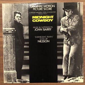 Midnight Cowboy Soundtrack - Vinyl LP - United Artists Records 1969