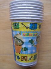 New & Sealed 8 BILL & and BEN  Birthday Party Cups 20cl 200ml