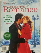 Harlequin Christmas Romance Three Holiday Love Stories FREE SHIPPING sb